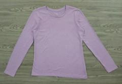 DIP Ladies Long Sleeved Shirt (PURPLE) (M - L - XXL)
