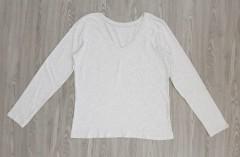 DIP Ladies Long Sleeved Shirt (GRAY) (L - XL)
