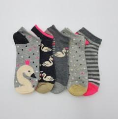 PROELITE Ladies Socks 5 Pcs Pack (AS PHOTO) (ONE SIZE)