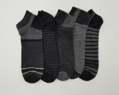 FITTER FIT FOR ME Mens Ankle Socks 5 Pcs Pack (AS PHOTO) (ONE SIZE)