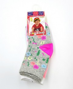 TOM And DAISY Girls Socks 5 Pcs Pack (AS PHOTO) (0 to 36 Months)