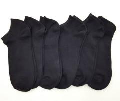 FITTER Mens Sports Socks 6 Pcs Pack (BLACK) (FREE SIZE)