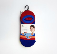 BAROTTI Girls Socks 3 Pcs Pack (RANDOM COLOUR) (7 to 11 Years)