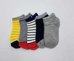 BAROTTI Boys Socks 1 X5 Paks (AS PHOTO) (5 to 7 Years)