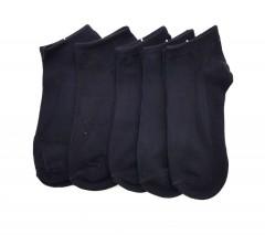 BAROTTI Ladies Socks 5 Pcs Pack (BLACK) (FREE SIIZE)