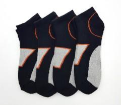 BAROTTI Mens Socks 4 Pcs Pack (LIGHT GRAY - BLACK) (FREE SIZE)