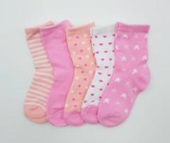 BAROTTI Girls Socks 5 Pcs Pack (AS PHOTO) (24 to 36 Months)