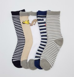 BAROTTI Boys Socks 5 Pcs Pack (AS PHOTO) (5 to 7 Years)