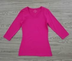JANINA Ladies Long Sleeved Shirt (PINK) (36 to  48)