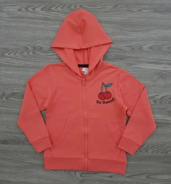 OVS Girls Hoodi (ORANGE) (2 to 6 Years)