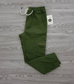 GEORGE Boys Pants (GREEN) (4 to 16 Years)