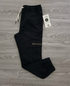 GEORGE Boys Pants (BLACK) (4 to 16 Years)