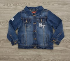 TISIAIA Boys Jeans jacket (BLUE) (3 to 10 Years)