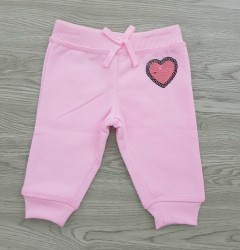LOVE Girls Pants (PINK) (12 Months to 6 Years)