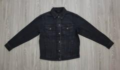 VERO MODA Ladies Jean Jacket (BLACK) (XS - S - M - L - XL)