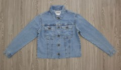 NOISY MAY Ladies Jean Jacket (BLUE) (XS - S - M - L - XL)