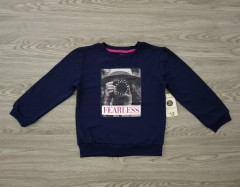 GEORGE Girls SweatShirt (NAVY) (4 to 16 Years )