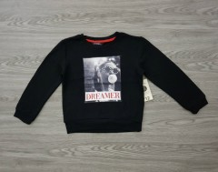 GEORGE Girls SweatShirt (BLACK) (4 to 16 Years )