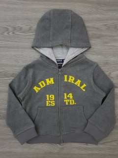 ADMIRAL Boys Hoody (GRAY) (2 Years)