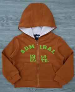 ADMIRAL Boys Hoody (BROWN) (2 to 6 Years)