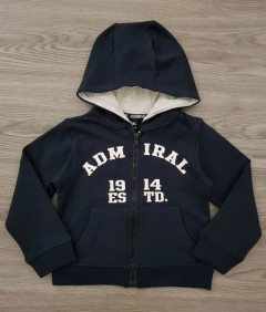 ADMIRAL Boys Hoody (DARK GRAY) (2 to 7 Years)