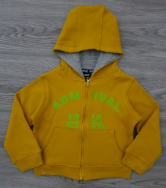 ADMIRAL Boys Hoody (YELLOW) (2 to 7 Years)