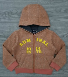ADMIRAL Boys Hoody (ORANGE) (2 to 4 Years)