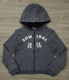 ADMIRAL Boys Hoody (GRAY) (6 to 7 Years)