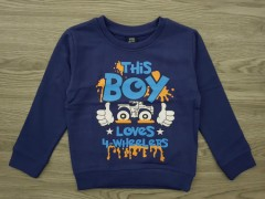 KIKI AND KOKO Boys Sweat Shirt (BLUE) (1 to 7 Years)