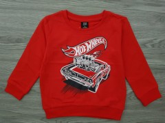 KIKI AND KOKO Boys Sweat Shirt (RED) (1 to 7 Years)