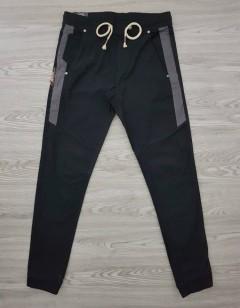 RINE APPLE Mens Joggers (BLACK) (S - M - L - XL - XXL)