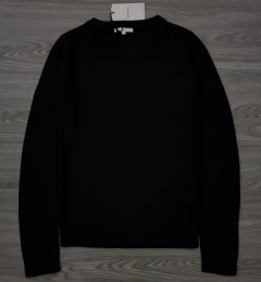 FISHER FIELD Ladis Sweat Shirt (BLACK) (XS - S - M - L - XL)