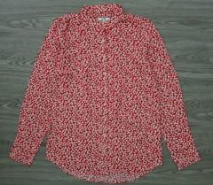 LH Ladies Printed Tops (RED- WHITE) (S - M - L - XL)