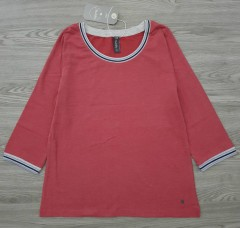 MULTIBLU Ladies Long Sleeved Shirt (PINK) (S - M - L - XL - XXL)