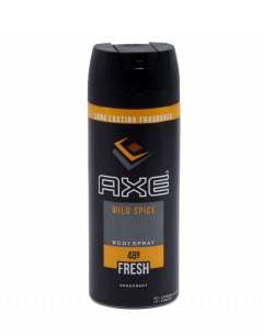 AXE Wild Spice Body Spray 150ml (Exp: 6.2023) (K8)