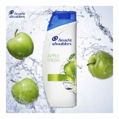 HEAD & SHOULDERS  Apple Fresh Anti-Dandruff Shampoo 400ML (Exp: 08.2022) (K8)