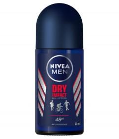 NIVEA MEN Dry Impact Anti-perspirant Deodorant Roll on 50ML (K8)