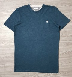 TOM TAILOR Mens T-Shirt (GREEN - BLUE) (S - M - L - XL - XXL - 3XL)