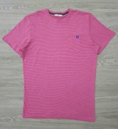 TOM TAILOR Mens T-Shirt (PINK) (S - M - L - XL - XXL - 3XL)