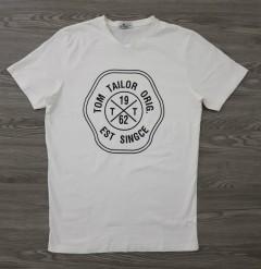 TOM TAILOR Mens T-Shirt (WHITE) (S - M)