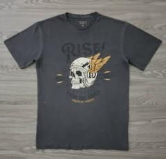 TERRANOVA Mens T-Shirt (GRAY) (XS - S - M - L - XL -XXL)