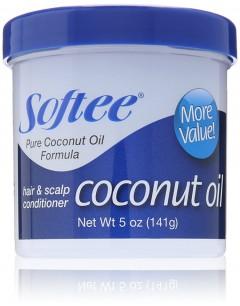SOFTEE Coconut Oil Hair & Scalp Conditioner 5 oz 141G (K8)