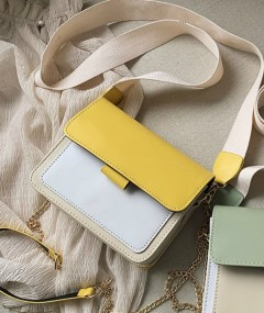 Ladies Bags (YELLOW - CREAM) (Os)
