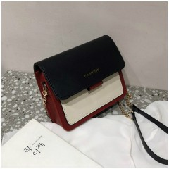 Ladies Bags (MAROON - BLACK) (Os)