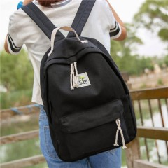 Ladies 2 Pce Back Pack (BLACK) (OS)