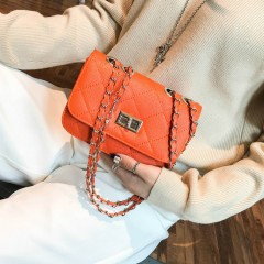Ladies Bags (ORANGE) (Os)