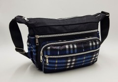 Ladies Bags (BLACK - BLUE) (Os)