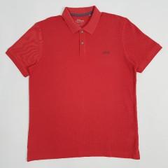 SOLIVER Mens Polo Shirt (RED) (S - L - XL - 2XL - 3XL)