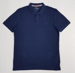 SOLIVER Mens Polo Shirt (NAVY) (M - XL - 2XL - 3XL)