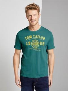 TOM TAILOR Mens T-Shirt (GREEN) (S - M - L - Xl - 2XL - 3xl)